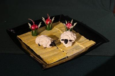 刀工競賽-原野上的綿羊