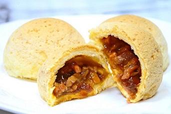 君品酒店 頤宮中餐廳推薦菜色 酥皮焗叉燒包