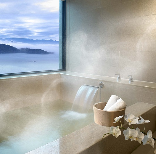 雲品溫泉酒店 客房泡湯池