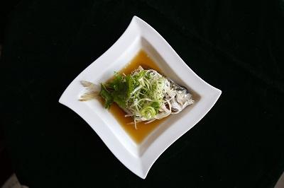翰品桃園-料理-清蒸三角魚