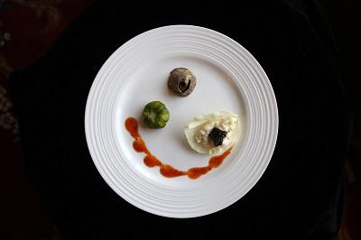 翰品花蓮-料理-火山爆發