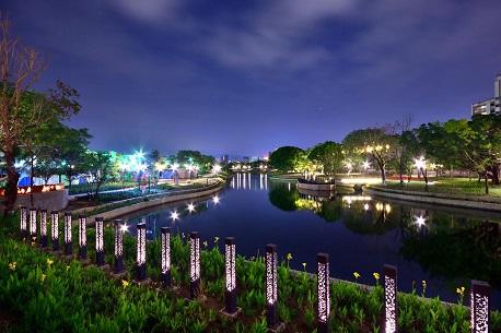 豐原葫蘆墩園區軟埤仔溪水岸公園(圖由台中市政府提供)