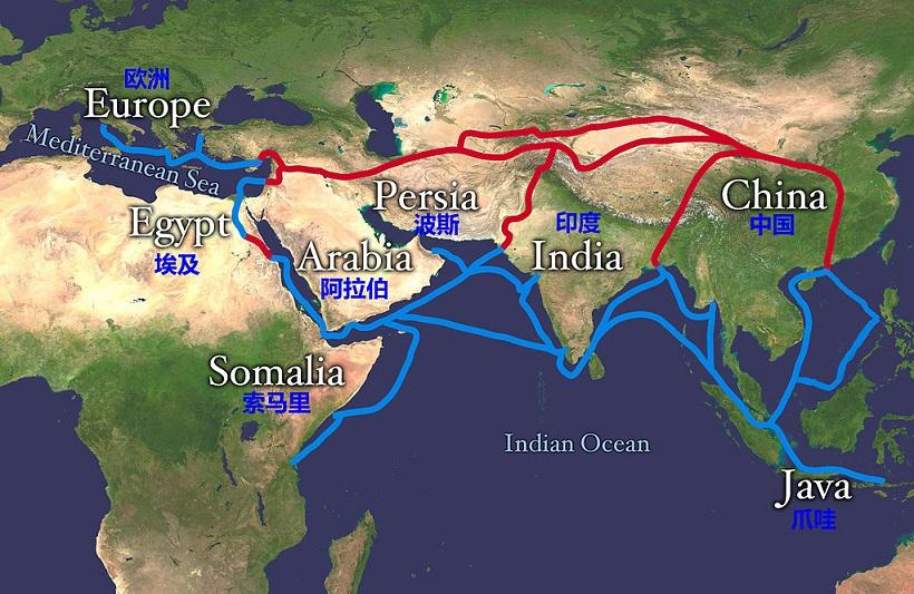 費迪南·馮·李希霍芬男爵提出絲綢之路
