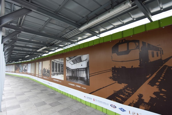 高雄車站-風雨走廊