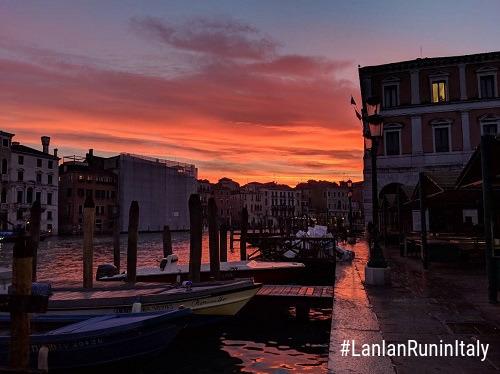LanLanRuninItaly Venice