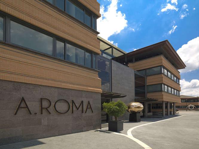 A.Roma Hotel entrance