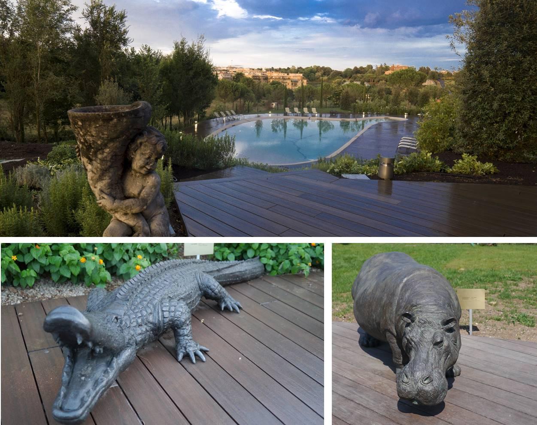 A.Roma swimming pool