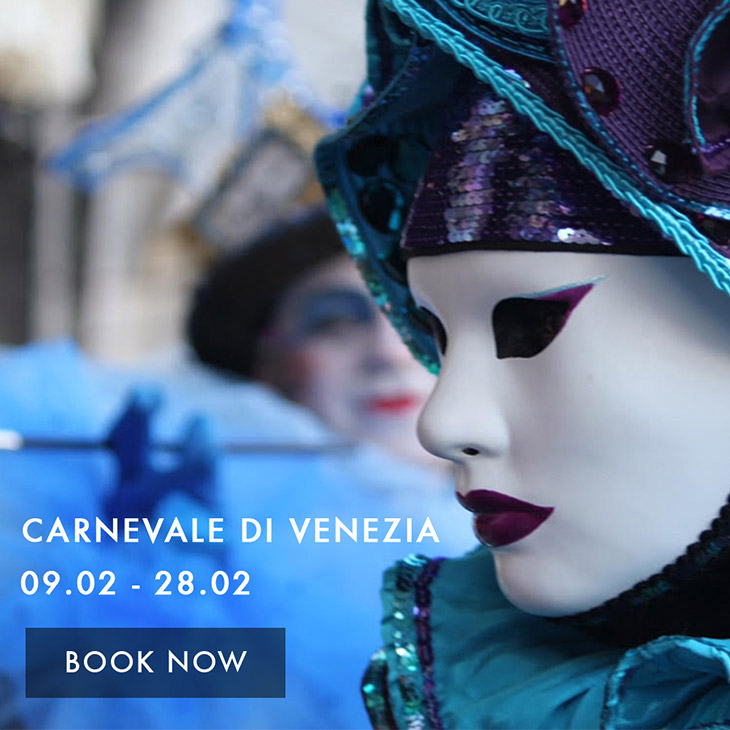 Celebrate the Carnival of Venice with a Costume Photoshoot Package offer Palazzo Venart