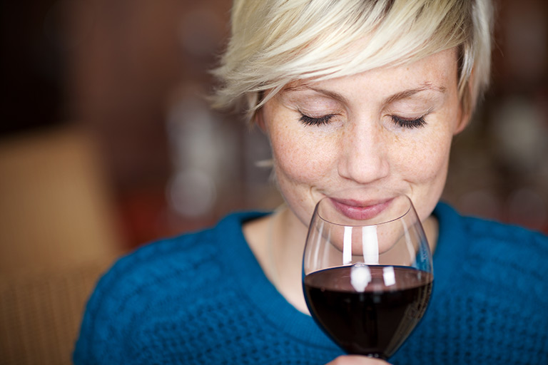wine-tasting-image-of-a-woman